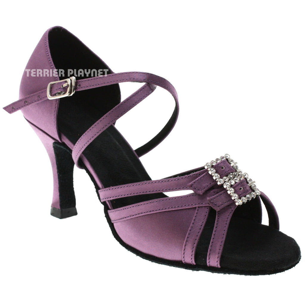 Light Purple Women Dance Shoes D1028
