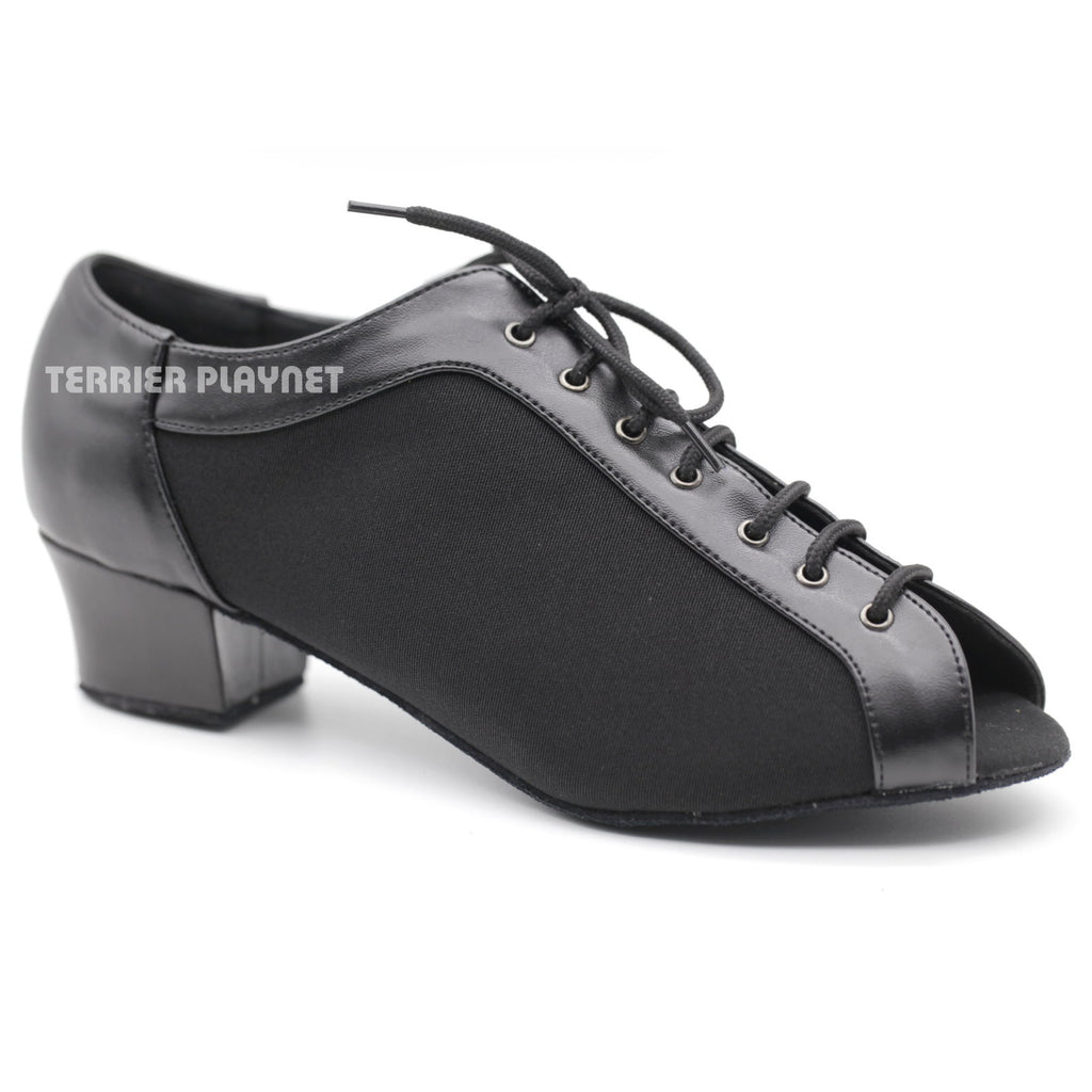 Black Women Dance Shoes D1109 - Terrier Playnet Shop