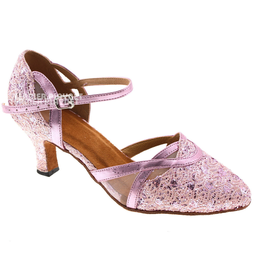 Pink Women Dance Shoes D113 - Terrier Playnet Shop