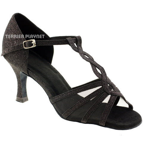 Black Women Dance Shoes D12