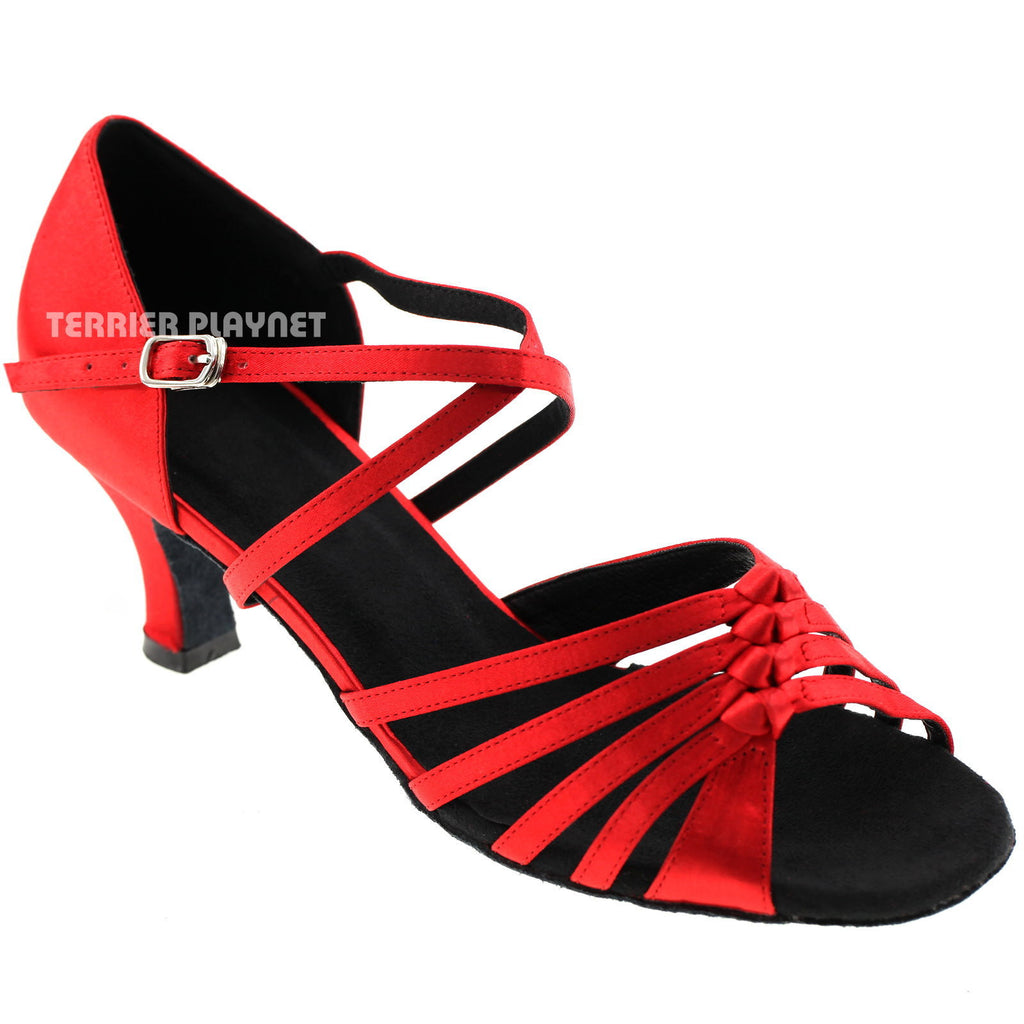 Red Women Dance Shoes D177