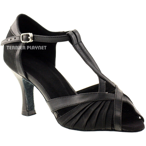 Black Women Dance Shoes D178