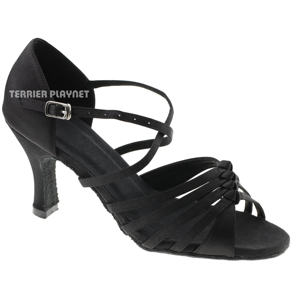 Black Women Dance Shoes D215 - Terrier Playnet Shop