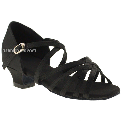 Black Children Dance Shoes D273C