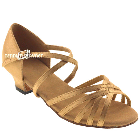 Gold Children Dance Shoes D288C