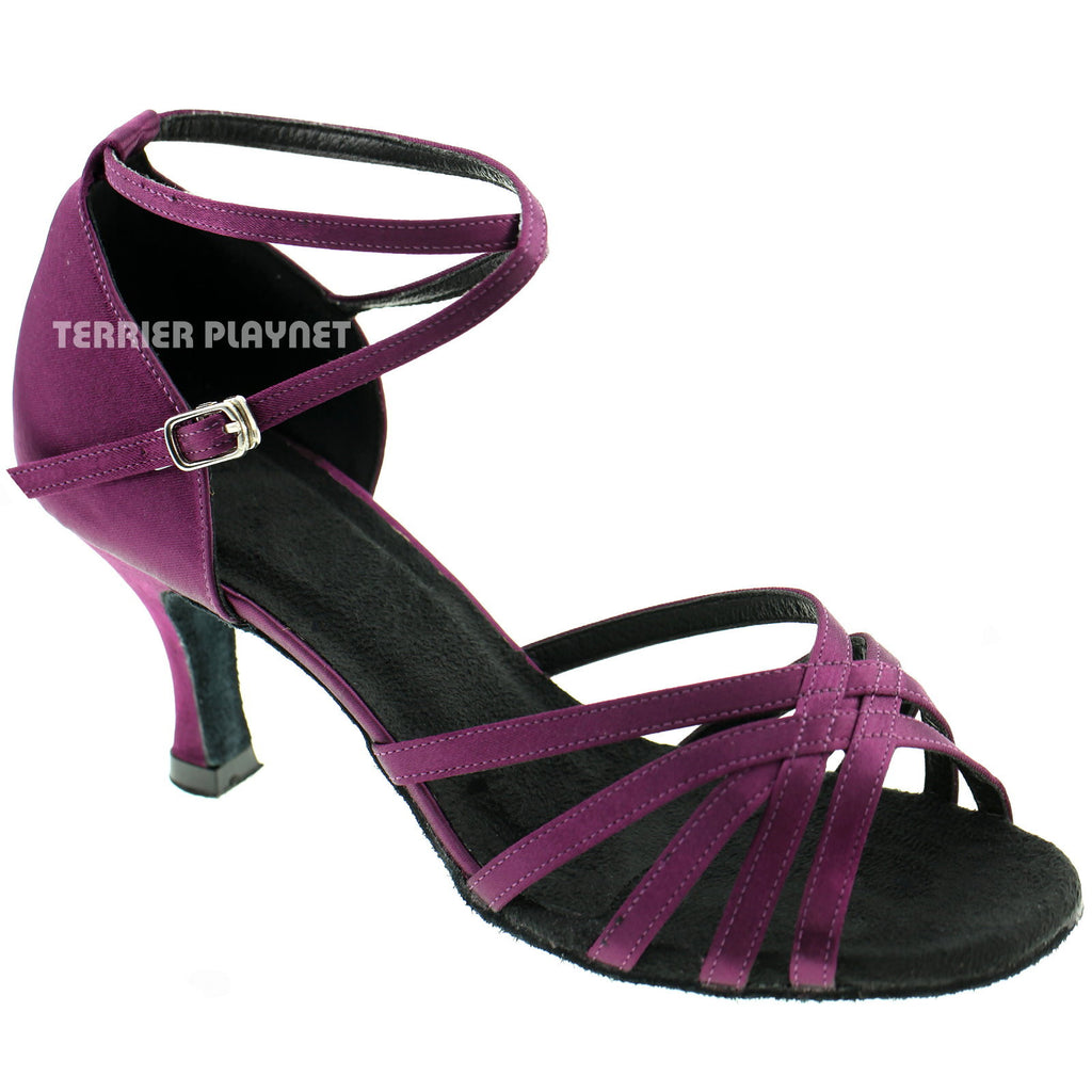 Purple Women Dance Shoes D301 - Terrier Playnet Shop