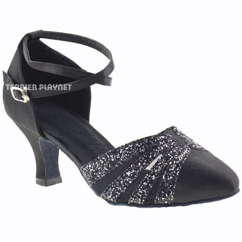 Black Women Dance Shoes D306