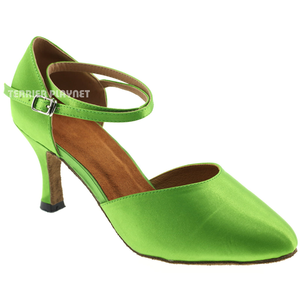 Light Green Women Dance Shoes D309 - Terrier Playnet Shop