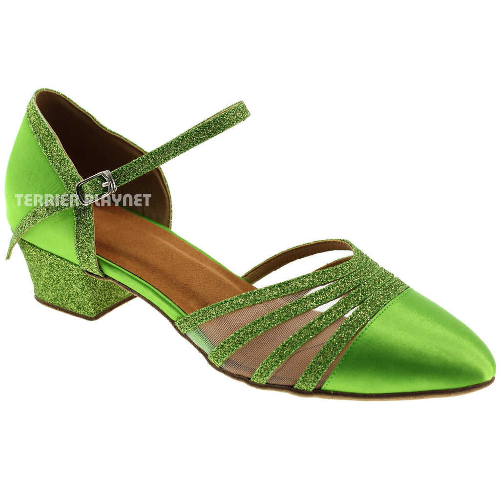 Light Green Women Dance Shoes D310