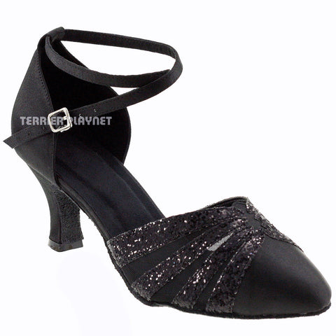 Black Women Dance Shoes D318