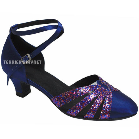 Blue Women Dance Shoes D320