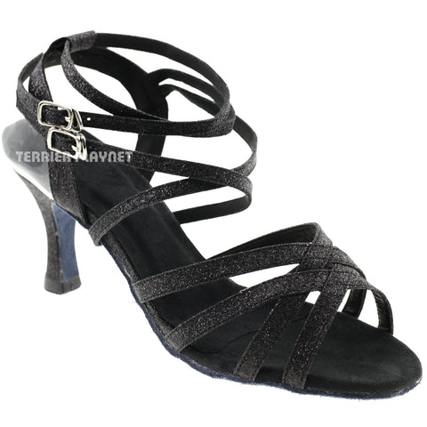 Black Women Dance Shoes D321