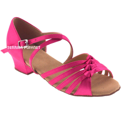 Hot Pink Children Dance Shoes D380C
