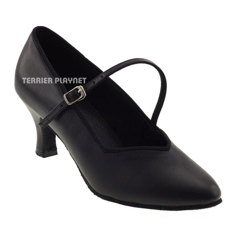 Black Women Dance Shoes D387
