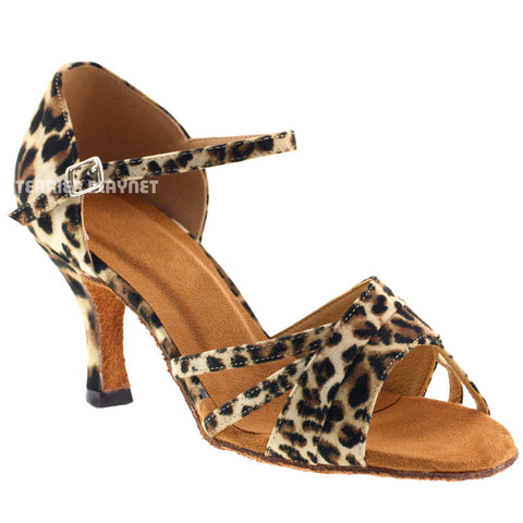 Leopard Women Dance Shoes D400