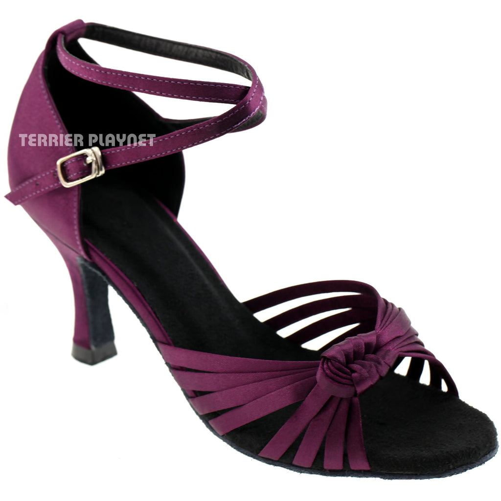 Purple Women Dance Shoes D429