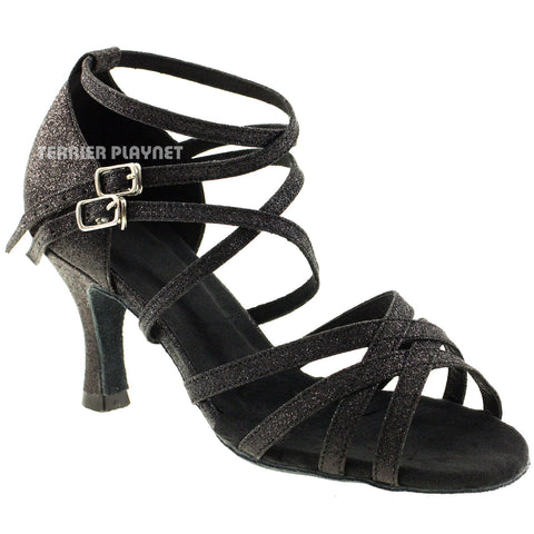 Black Women Dance Shoes D469
