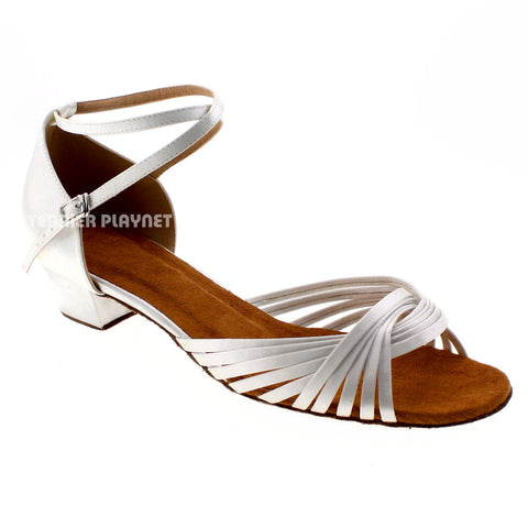 White Women Dance Shoes D534