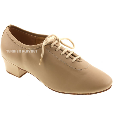 Light Brown Women Dance Shoes D564
