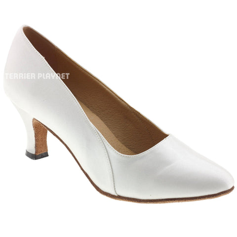 White Women Dance Shoes D598