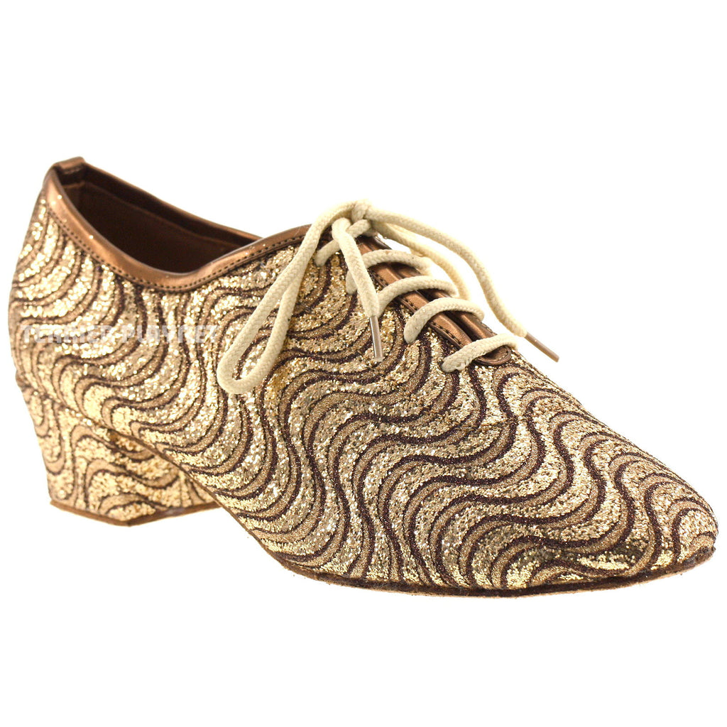 Bronze Women Dance Shoes D616