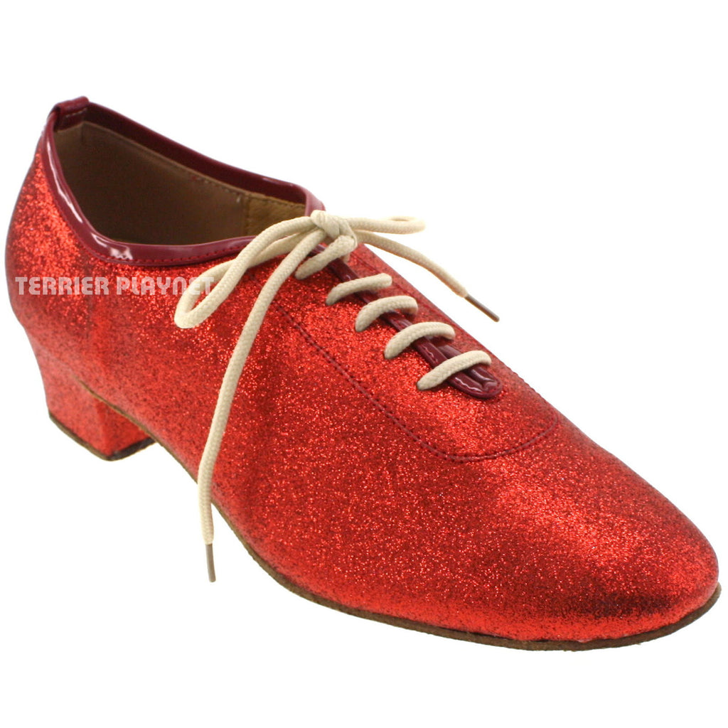 Red Women Dance Shoes D620 - Terrier Playnet Shop