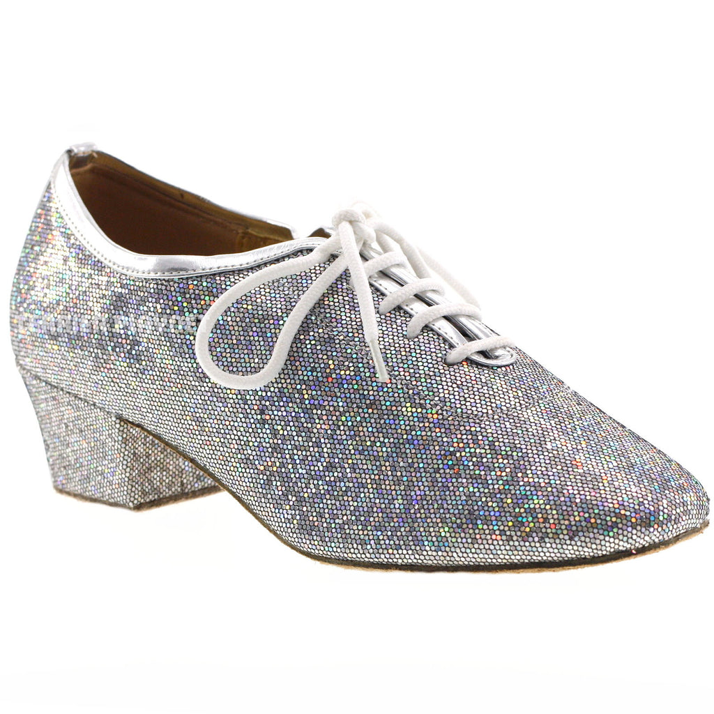 Silver Women Dance Shoes D621 - Terrier Playnet Shop