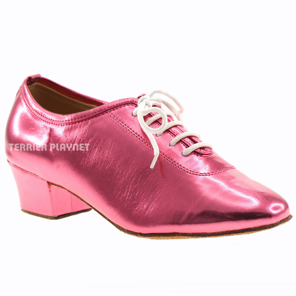 Pink Women Dance Shoes D622 - Terrier Playnet Shop