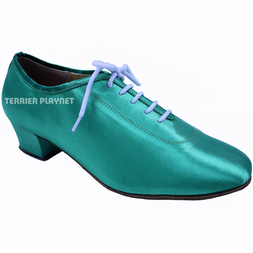 Turquoise Women Dance Shoes D624