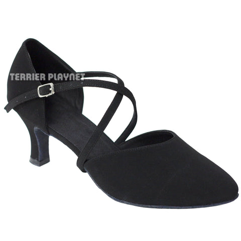 Black Women Dance Shoes D638