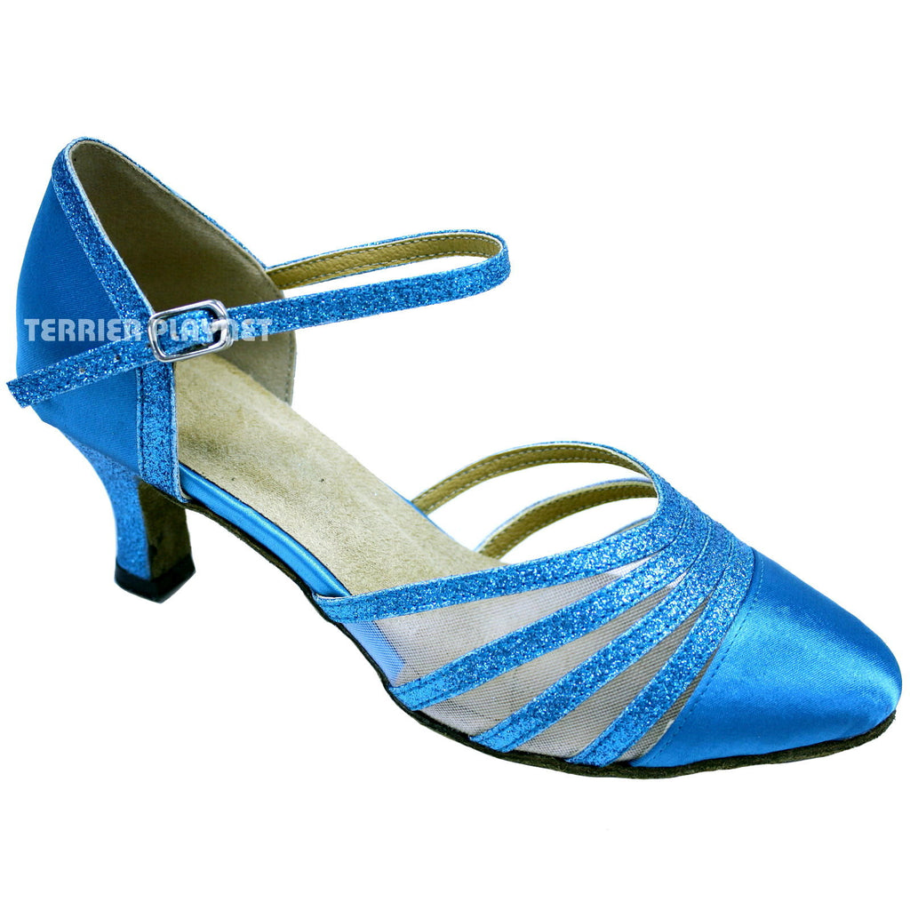 Light Blue Women Dance Shoes D649