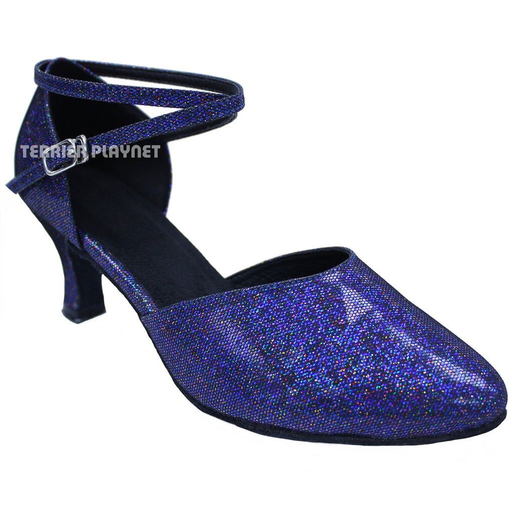 Blue Women Dance Shoes D661