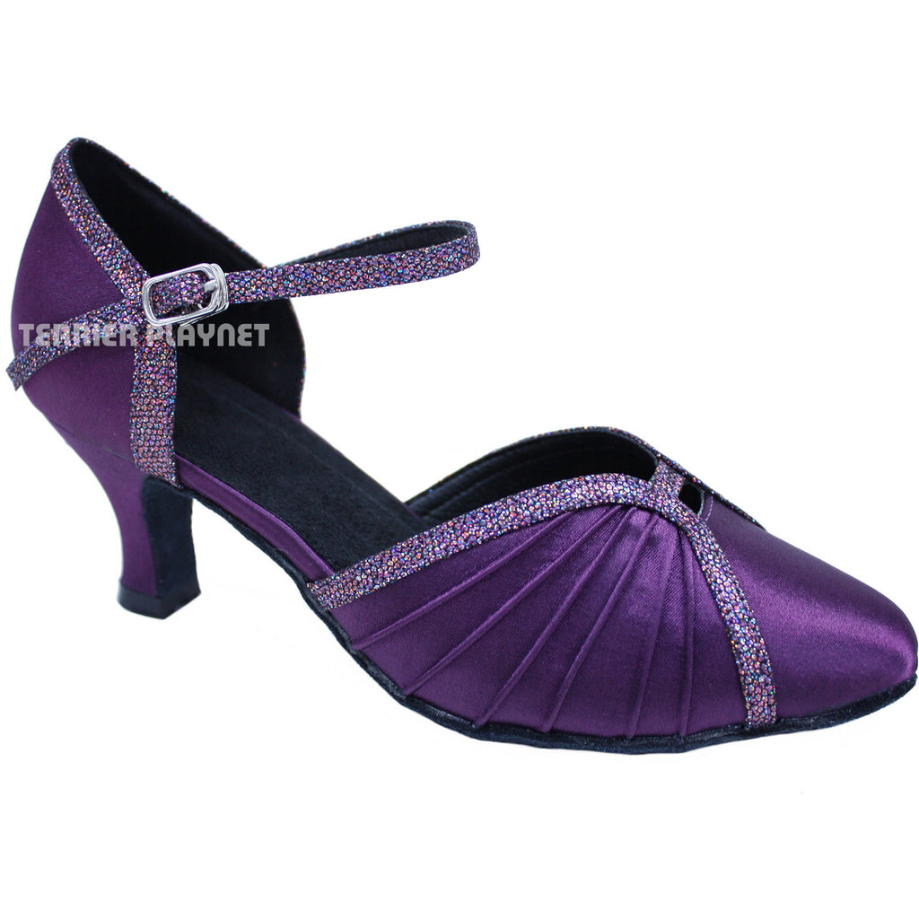 Purple Women Dance Shoes D681