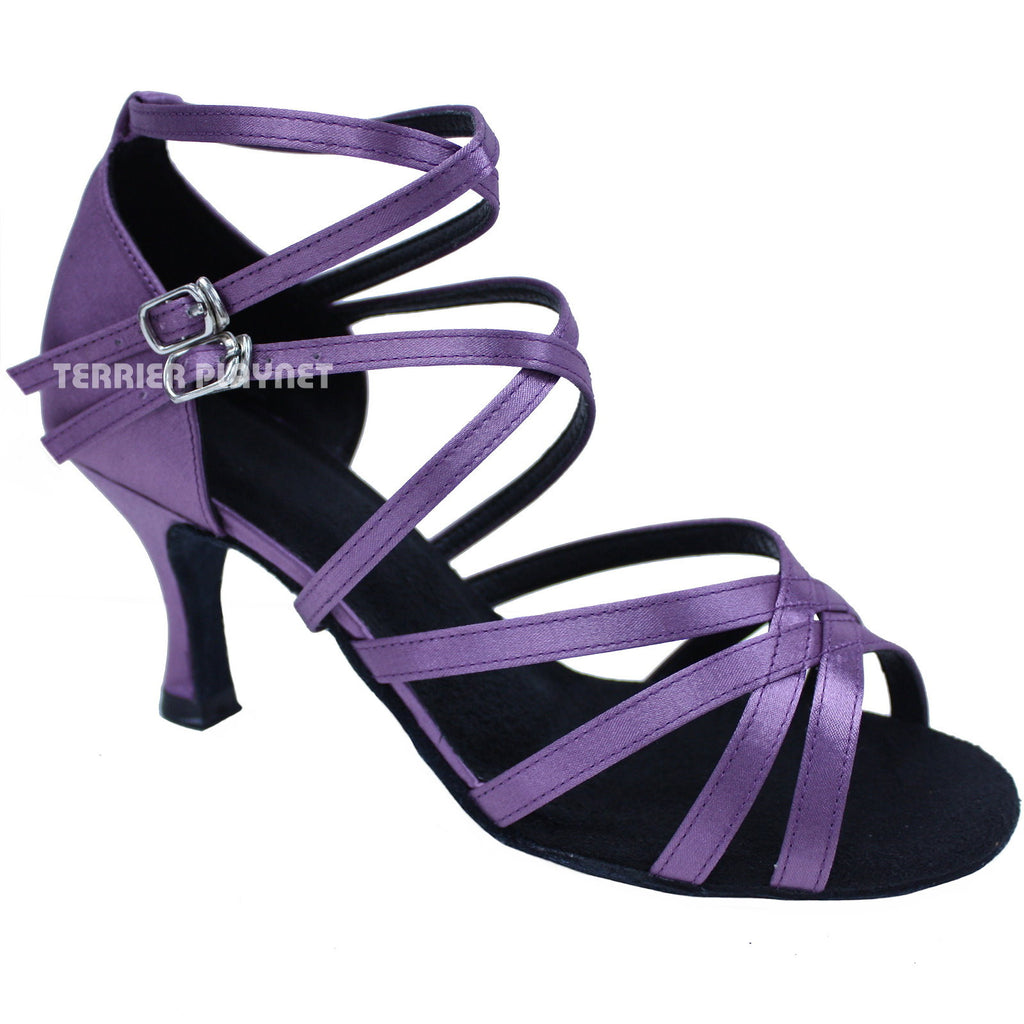 Light Purple Women Dance Shoes D683