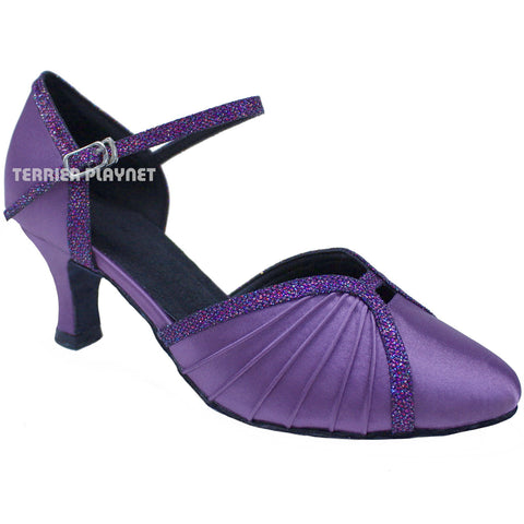 Light Purple Women Dance Shoes D693