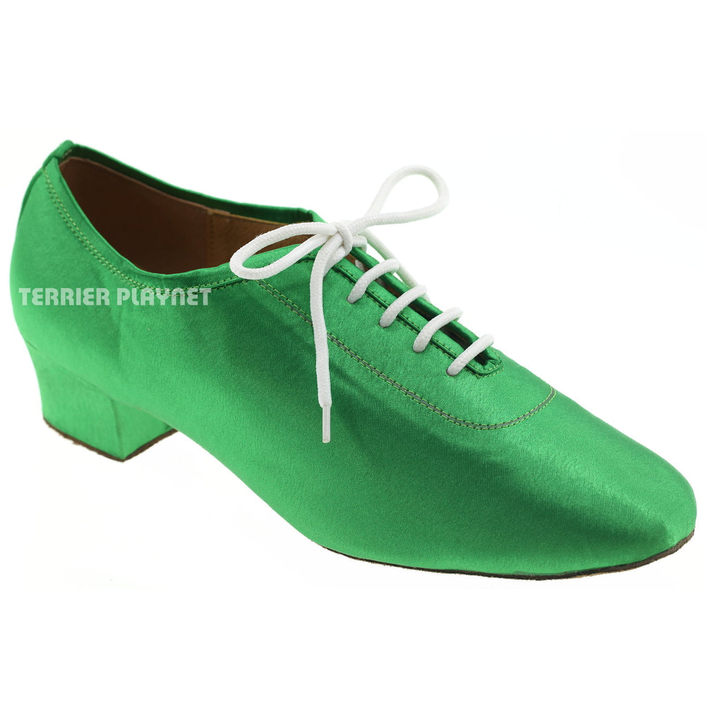 Green Women Dance Shoes D694 - Terrier Playnet Shop