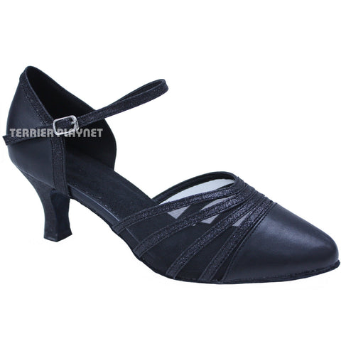 Black Women Dance Shoes D702
