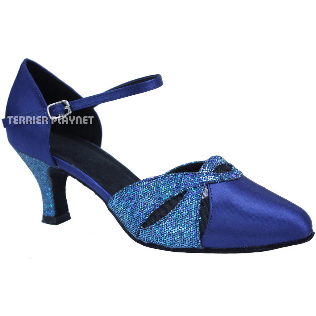 Blue Women Dance Shoes D703 - Terrier Playnet Shop