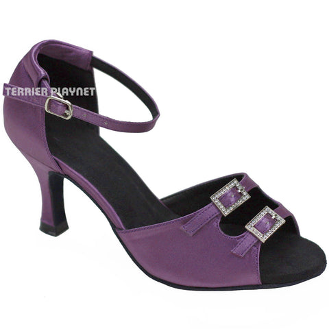 Light Purple Women Dance Shoes D712