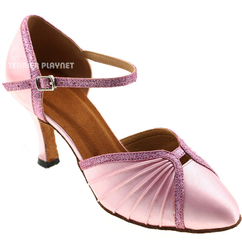 Light Pink Women Dance Shoes D745