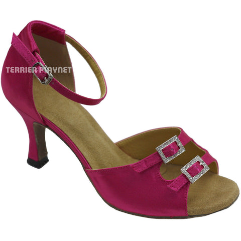 Hot Pink Women Dance Shoes D751
