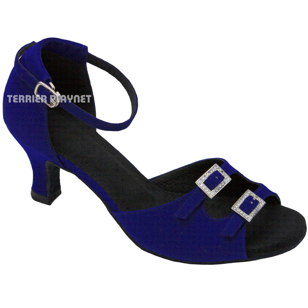 Blue Women Dance Shoes D775