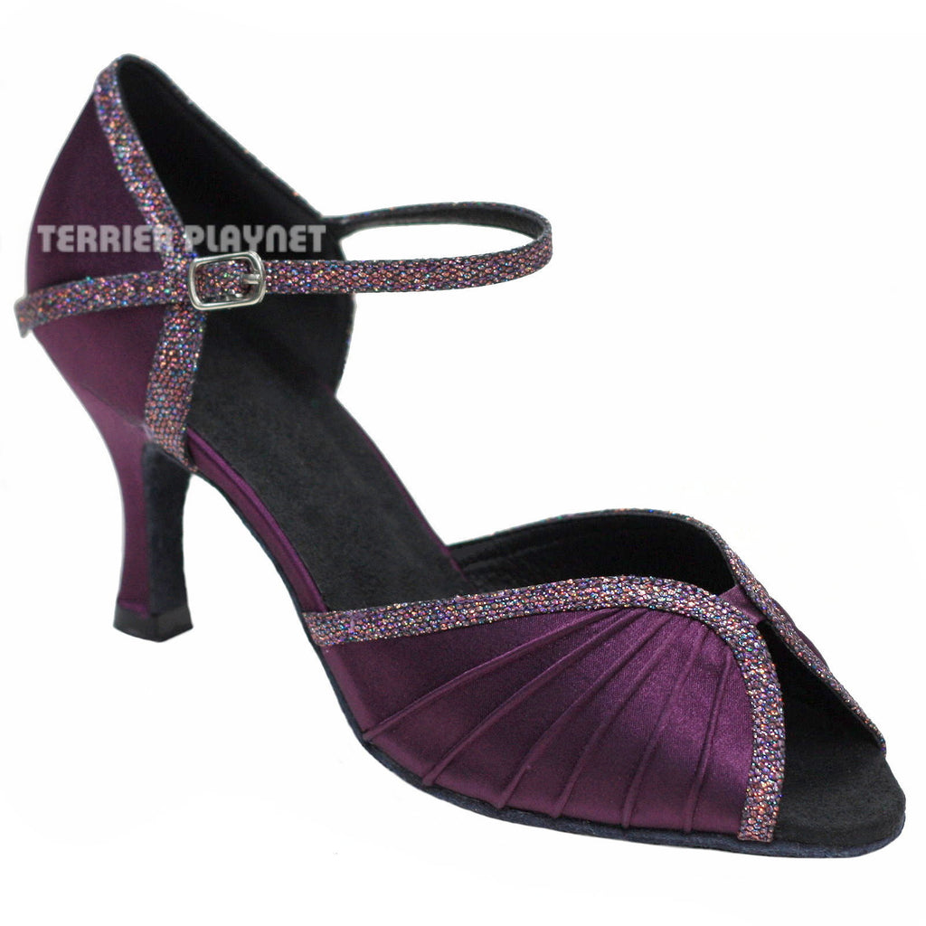 Purple Women Dance Shoes D780