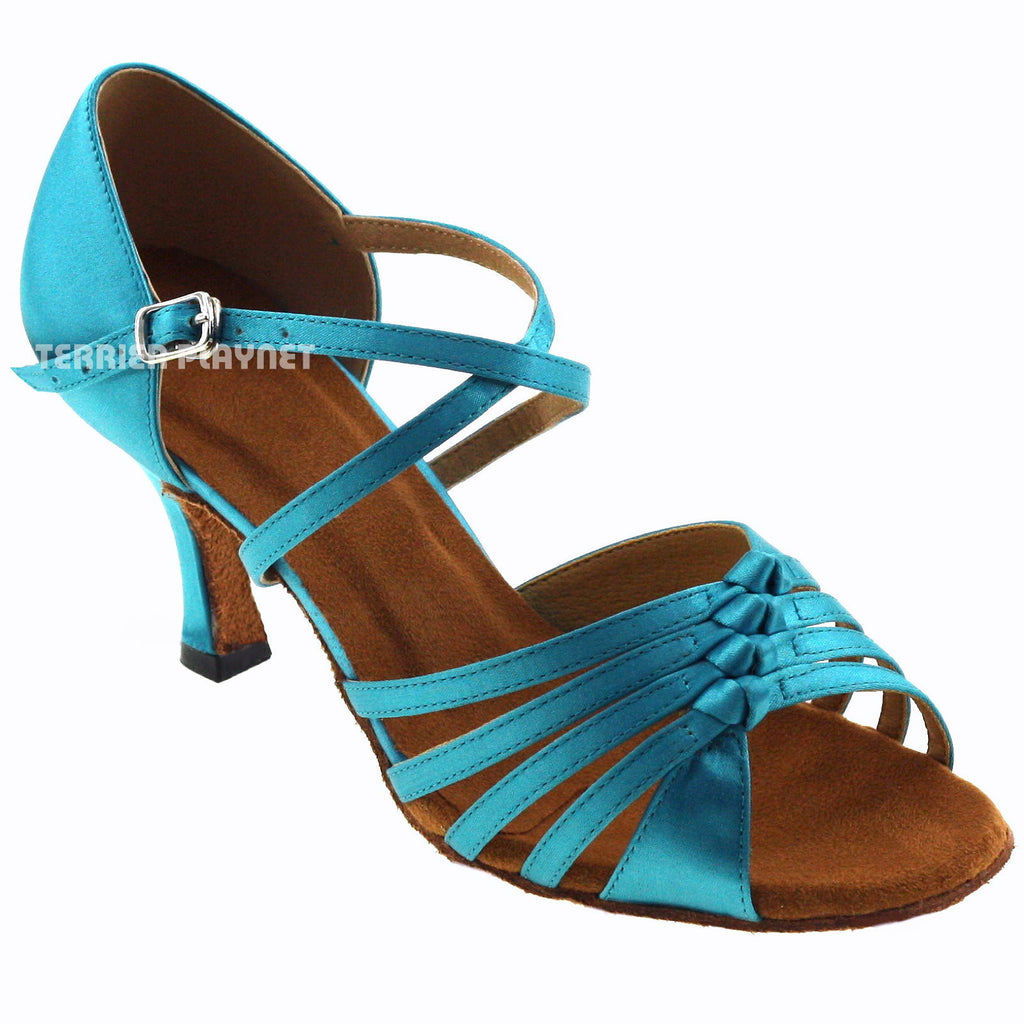Light Blue Women Dance Shoes D782