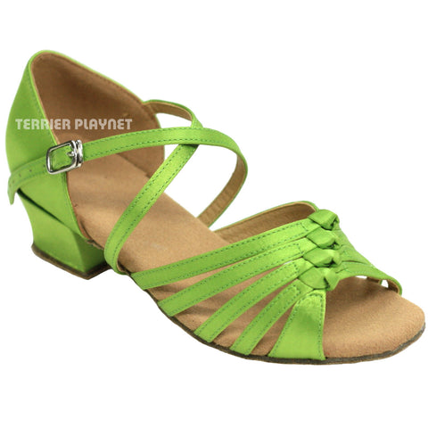 Light Green Children Dance Shoes D813C