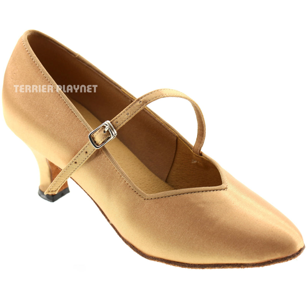 Gold Women Dance Shoes D81