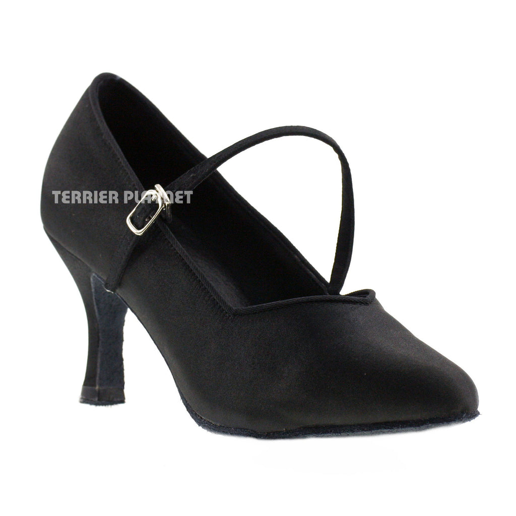 Black Women Dance Shoes D82 - Terrier Playnet Shop