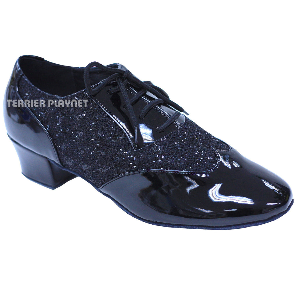 Black Women Dance Shoes D833 - Terrier Playnet Shop