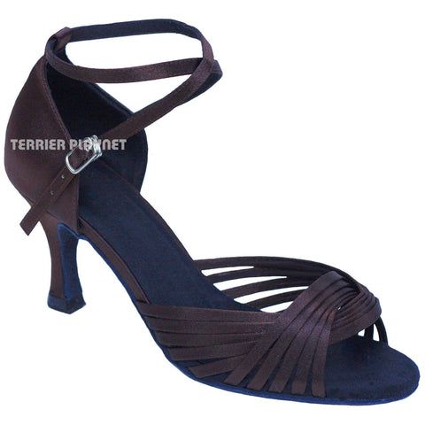 Brown Women Dance Shoes D841