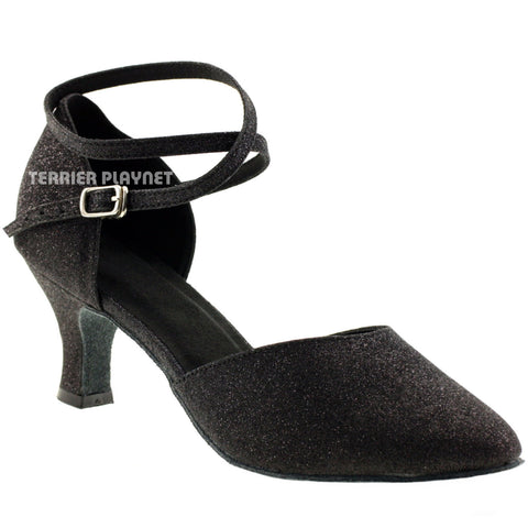 Black Women Dance Shoes D86